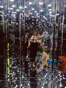 #sarinotsorry in the underwater mirror carousel of DENG GUOYUAN, Noah's Garden II | Singapore Art Museum, Singapore Biennale 2016 | Photo: Kalina King, LIGHTSTAGE