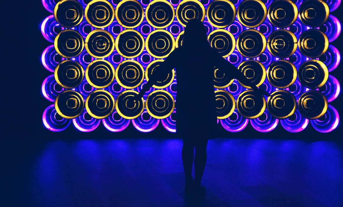 when in backlit sound and neon colour heaven....ZIKIFLE MAHMOD, SONICreflection | Singapore Art Museum, Singapore Biennale 2016 | Photo: Kalina King, LIGHTSTAGE